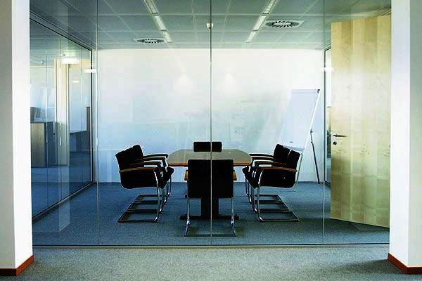 Divisiones de Oficina en Vidrio