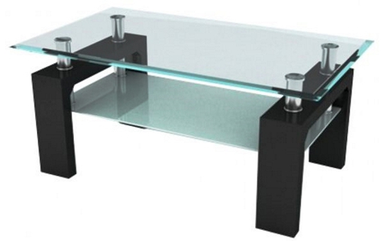 mesas de centro de vidrio