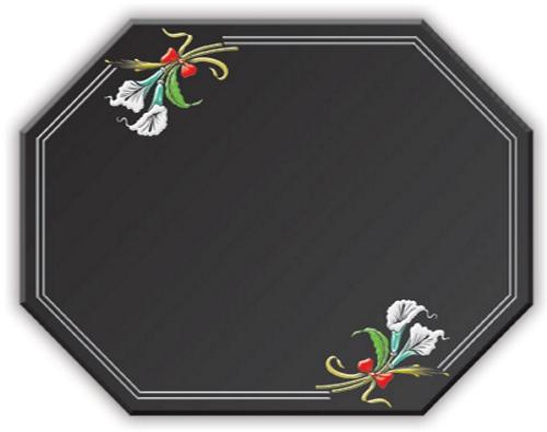 Hexagono mesas de comedor en vidrio for Comedor hexagonal