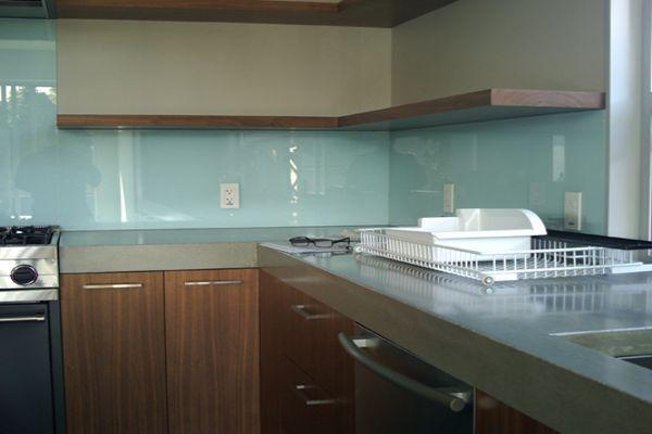 Salpicadero de vidrio para cocina - Cocinas de cristal ...